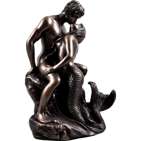 Seduction Cold Cast Bronze Sculpture